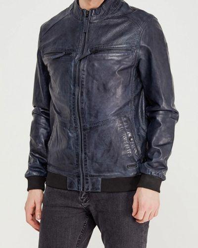Синяя куртка Mustang