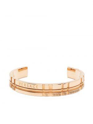Złota bransoletka Versace