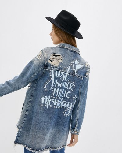 Синяя джинсовая куртка Whitney