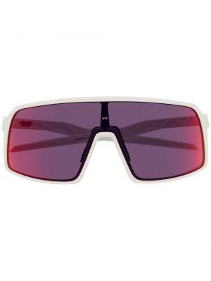 Солнцезащитные очки с логотипом - белые Oakley