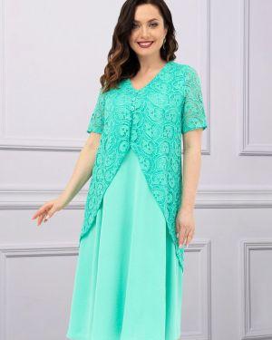 Вечернее платье шифоновое платье-сарафан Charutti