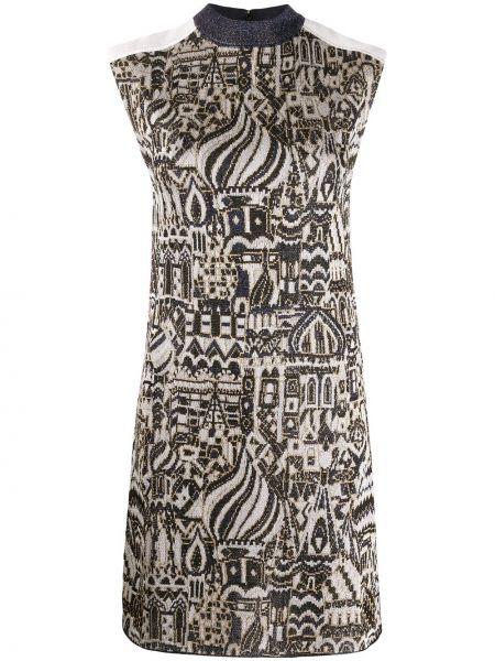 Платье с завышенной талией вязаное Missoni