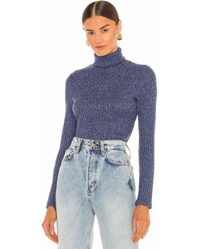 Хлопковый свитер - синий Smythe
