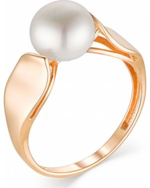 Кольцо с жемчугом из золота Contessa