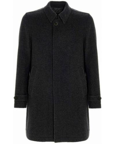 Płaszcz wełniany - szary Herno