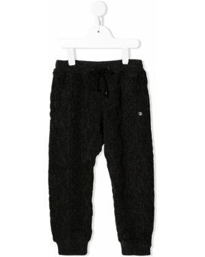 Черные брюки с пряжкой Fith