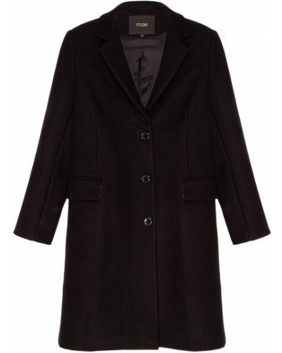 Укороченное пальто однобортное с отложным воротником Maje