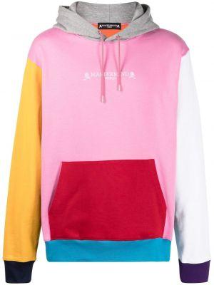 Różowa bluza z długimi rękawami bawełniana Mastermind World