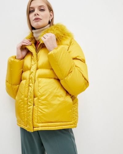 Желтая куртка Add