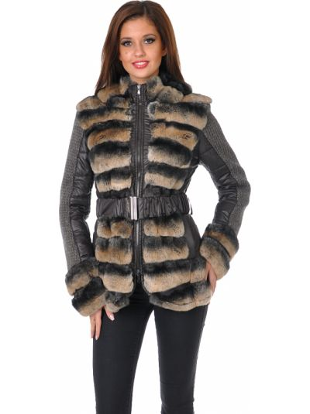 Шерстяное пальто - коричневое Mor`a
