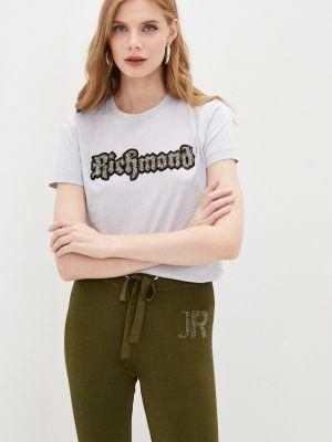 Серая итальянская футболка Richmond