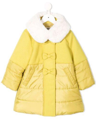 Желтое пальто Familiar