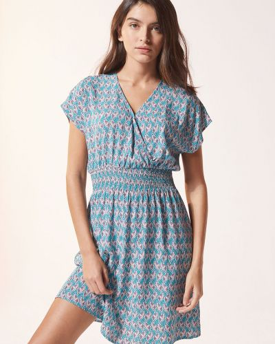 Piżama z koszulą krótki rękaw z wiskozy Etam