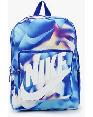 Синий нейлоновый рюкзак Nike
