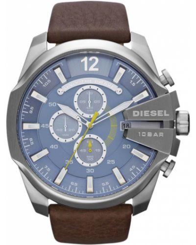 Часы водонепроницаемые серебряный универсальный Diesel