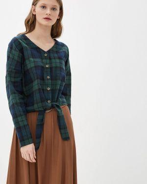 Блузка с длинным рукавом зеленый Blendshe