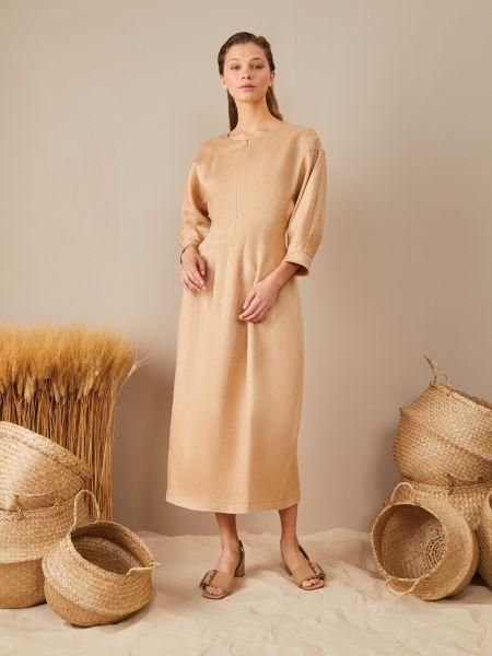 Платье миди на молнии 12storeez