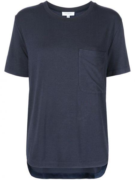Синяя футболка с карманами Equipment