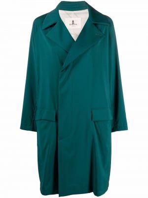 Шерстяное пальто - зеленое Barena
