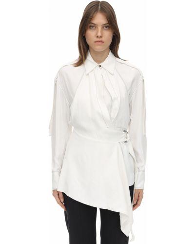 Классическая рубашка оверсайз с карманами Proenza Schouler