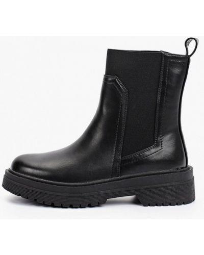 Черные резиновые ботинки Marquiiz