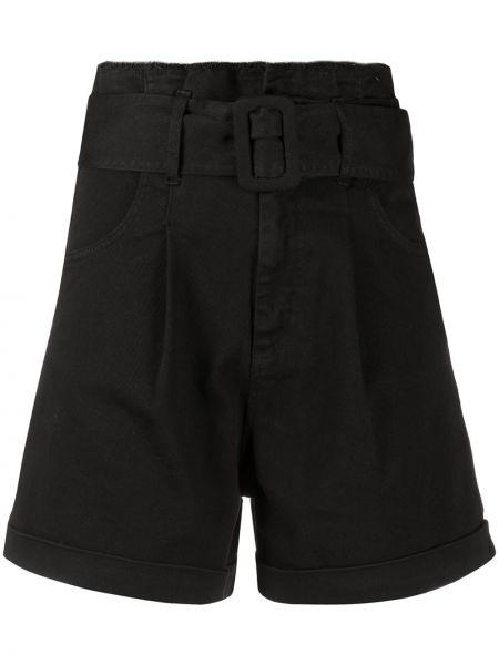 Черные шорты с карманами Federica Tosi