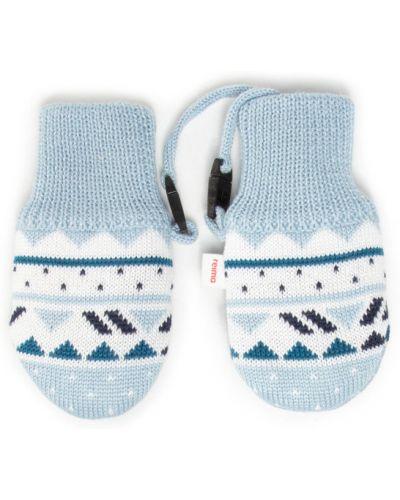 Niebieskie rękawiczki Reima