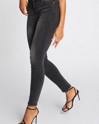 Серые джинсы-скинни узкого кроя Morgan