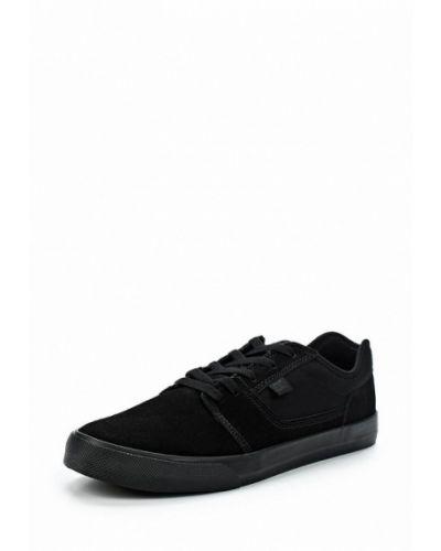 Черные замшевые низкие кеды Dc Shoes