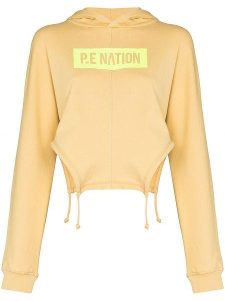 Желтые брюки с принтом P.e Nation