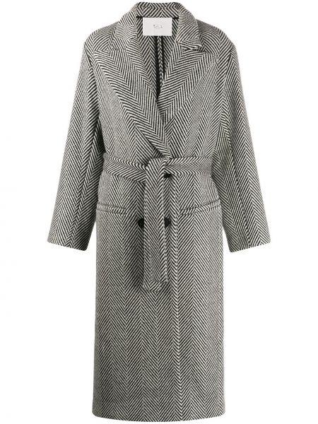 Пальто пальто двубортное Tela
