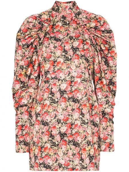 Платье мини на пуговицах с цветочным принтом Rotate