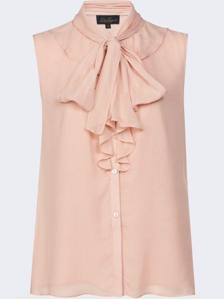 Шелковая блузка - бежевая Luisa Spagnoli
