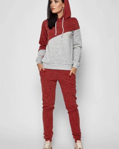 Спортивный костюм красный бордовый Karree