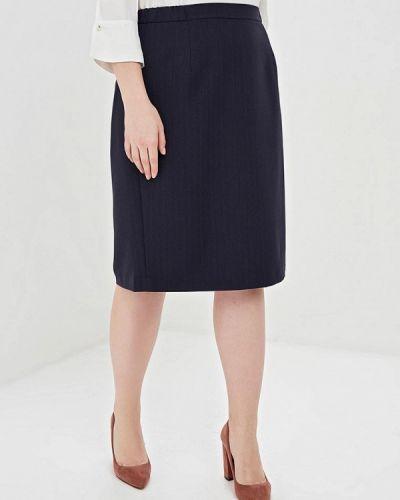 Юбка - синяя авантюра Plus Size Fashion
