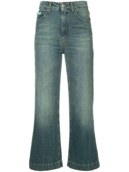 Прямые брюки с воротником Alexa Chung