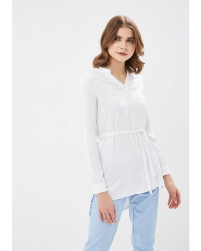 Белая блузка Modis