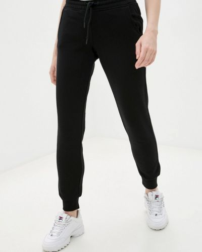 Черные спортивные брюки Fila