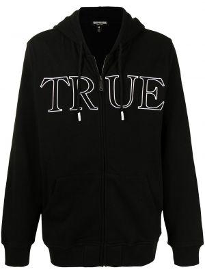 Bluza z nadrukiem z printem - biała True Religion
