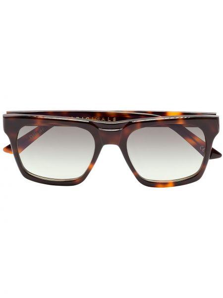 Czarne okulary z akrylu Kirk Originals