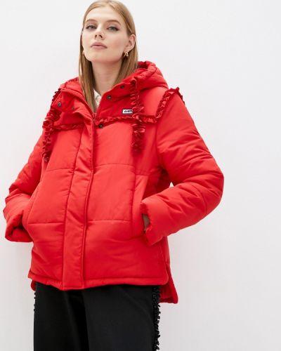 Утепленная куртка - красная Vivetta