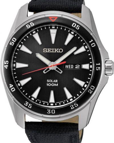 Часы водонепроницаемые с подсветкой стрелочные Seiko