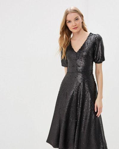 Вечернее платье черное Tutto Bene