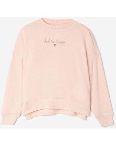 Джемпер с вырезом - розовый Gloria Jeans