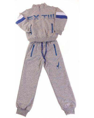 Костюмный серый спортивный костюм Joi