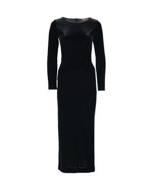 Вечернее платье деловое черное Via Torriani 88