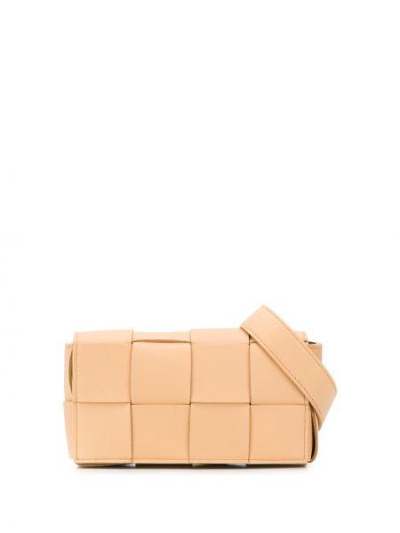 Кожаный ремень с поясом Bottega Veneta