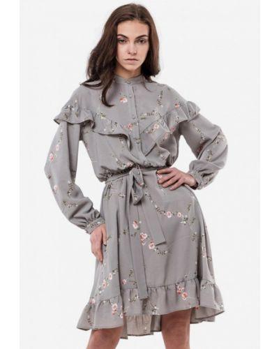 Платье - серое 7arrows