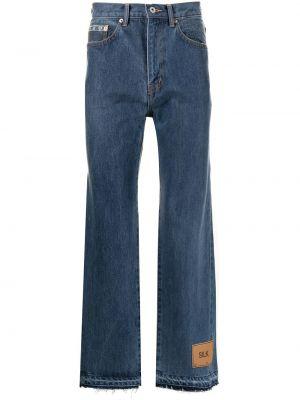 Niebieskie klasyczne jeansy Doublet