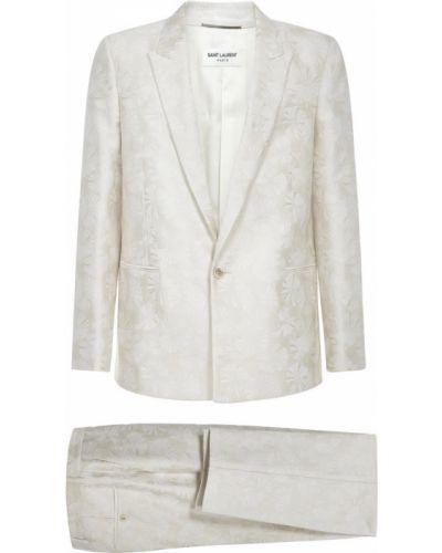 Spodnie oversize - beżowe Saint Laurent